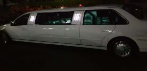 party limo hire brisbane - limo blue
