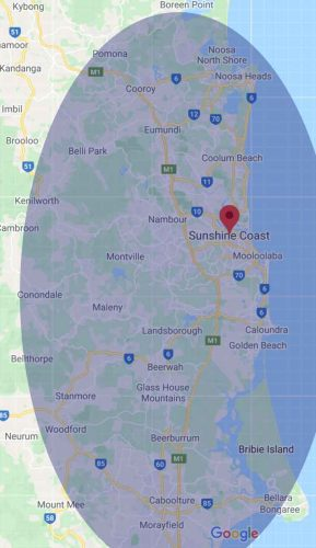 limo-hire-sunshine-coast-map